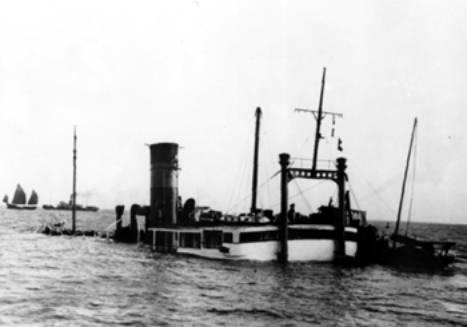 Sunk of SS Kiangya
