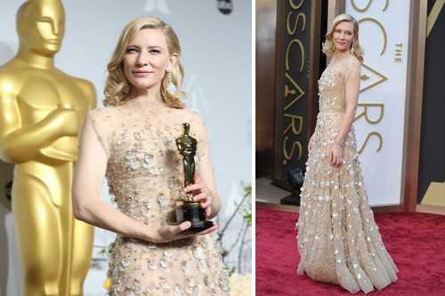 Cate Blanchett, 2014 oscar dress