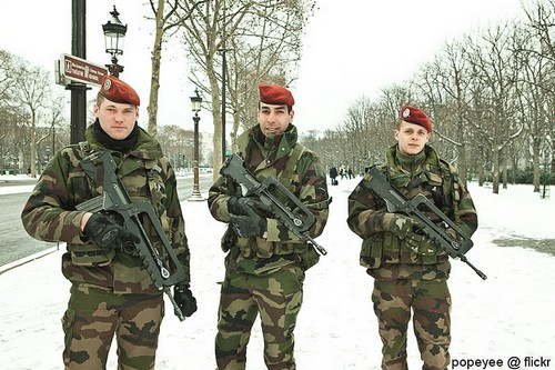 French Army Jawan