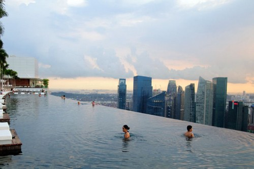 Luxury hotel, Marina Bay Sands