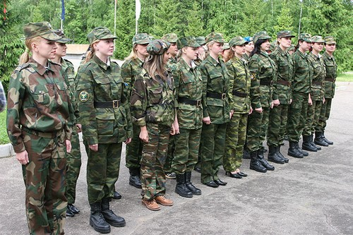 Russian Army Women Army