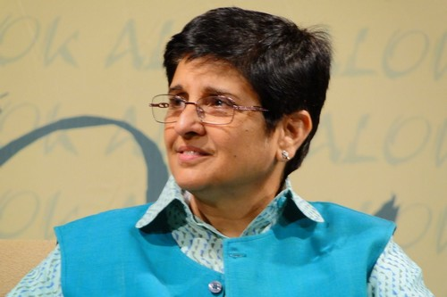 The doughty Kiran Bedi