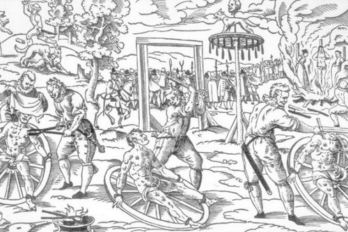 The execution of Peter Stumpp
