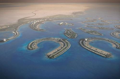 Amwaj artificial Island Bahrain