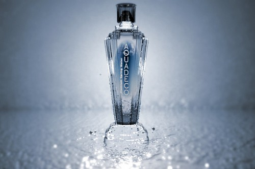 Expensive Bottled Designer Waters AquaDeco