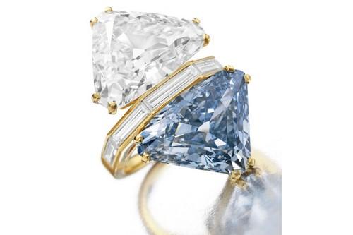Bulgari Two-Stone Diamond Ring