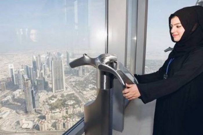 Burj Khalifa Tall Elevators