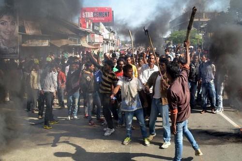 December 2014 Assam violence