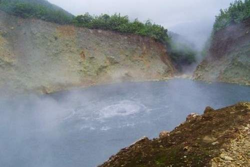 Dominica's Boiling Lake