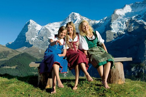 Happy Country Switzerland