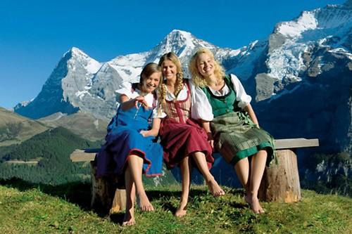 Happy Country Switzerland