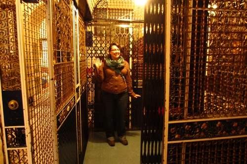 Maritime Museum Birdcage Elevator