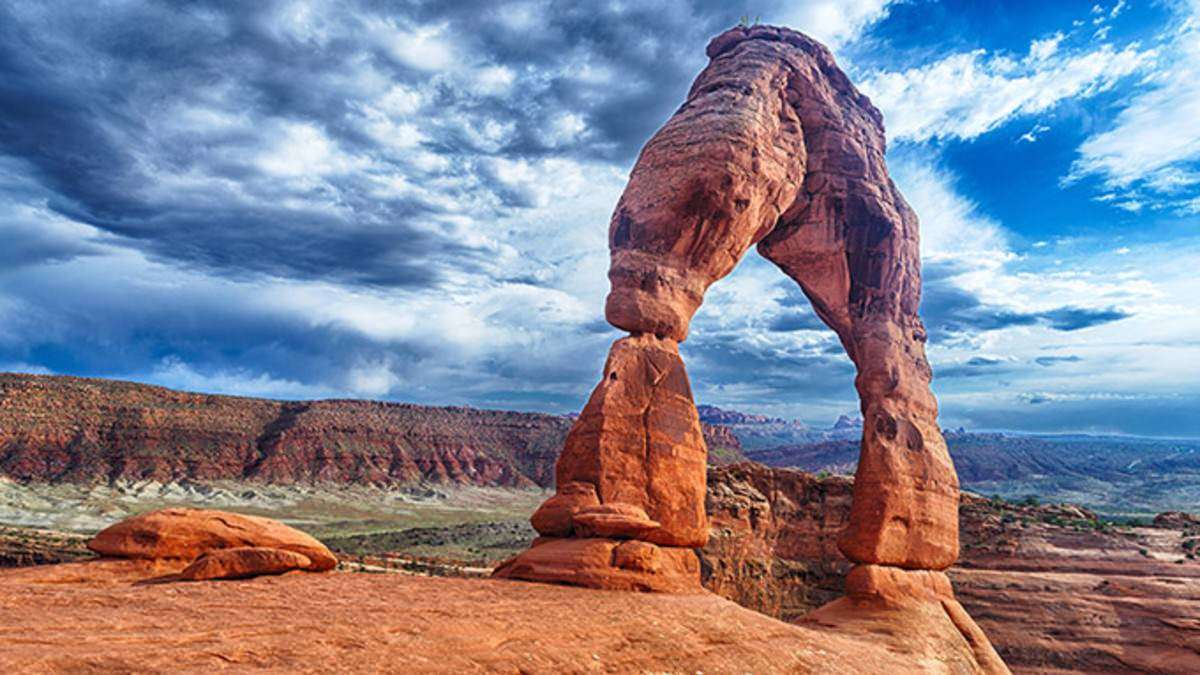 Natural Arches in the World