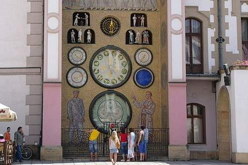 Olomouc astronomical clocks