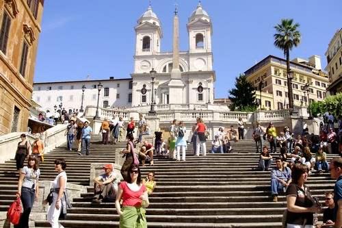 Spanish Steps Rome Italy