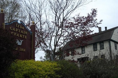 The Captain Grant's 1754 Inn Haunted Places in New England