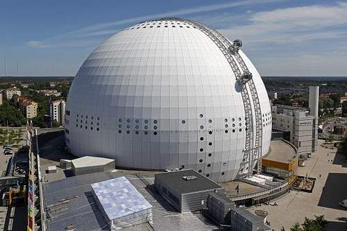 The Ericsson Globe – SkyView