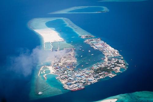 Thilafushi- artificial island