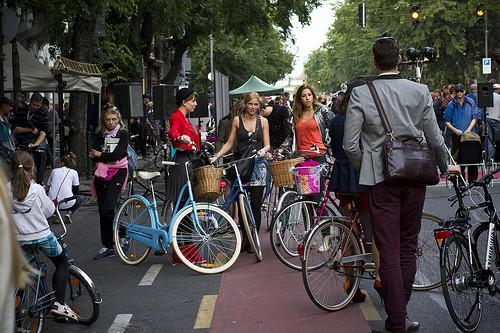 Budapest is bike friendly city