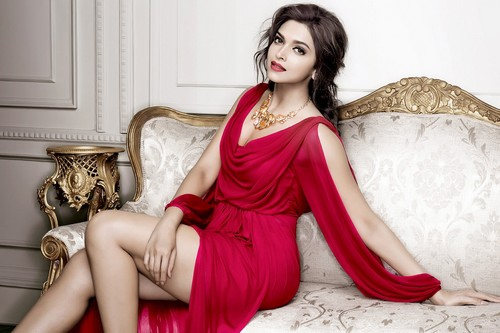 Deepika Padukone Hot in Red