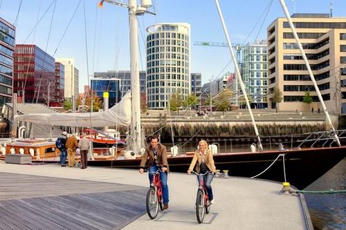 Hamburg Europe's bike-friendly cities