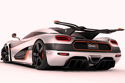 Koenigsegg One Fastest Supercars