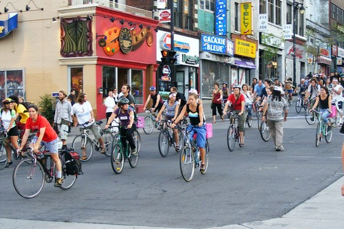Montreal Bike Friendly City