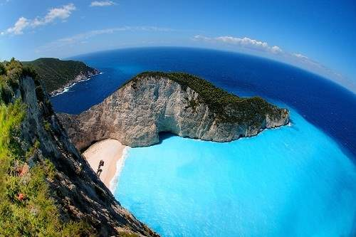 Navagio Cliffside Beach