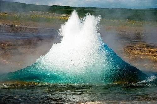 Strokkur Geyser - Iceland
