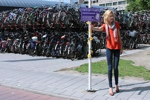 Utrecht is bike friendly city