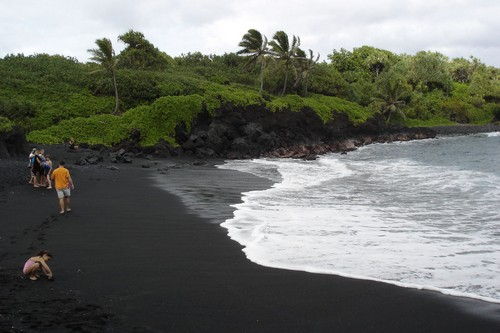 Top 10 black beaches from around the world for Black sand beach caribbean