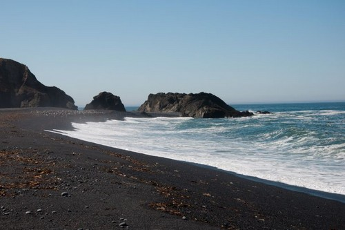 Black Sands Beach, California