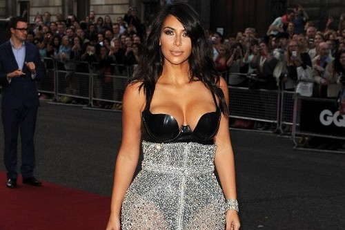 Curvy Celebrities in Hollywood Kim Kardashian