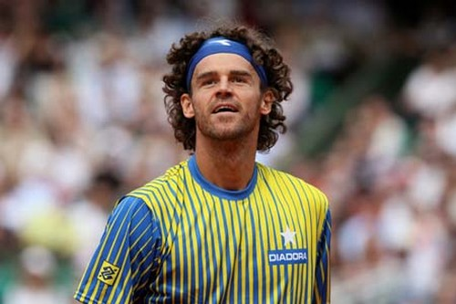 Brazilian player Gustavo Kuerten