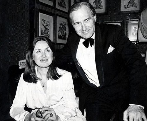 John Stonehouse with wife Sheila
