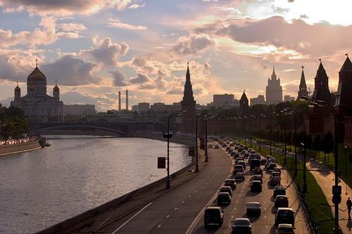 Kremlevskaya Naberezhnaja Moscow