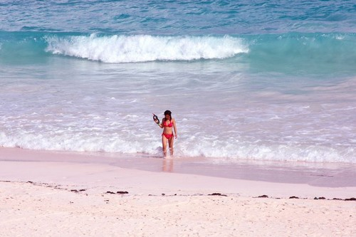 Top 10 wonderful pink beaches in the world for Pink sands beach in harbour islands