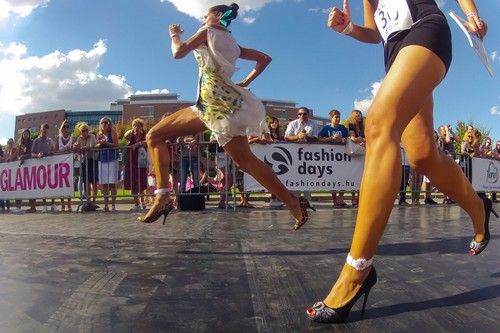 Running a Marathon in High Heels