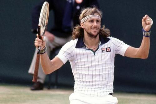 Tennis Champion Björn Borg