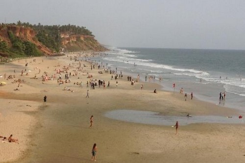 10 Black Beaches, India