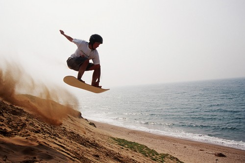 Best Sandboarding Destinations in Tottori Sand dune