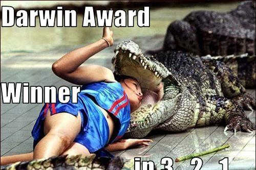 Darwin Weirdest Awards Wnner