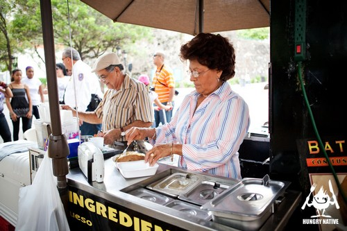 Food Street in San Juan and Luquillo, Puerto Rico