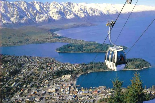 Queenstown Alluring Lakeside Cities New Zealand
