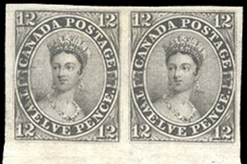 Canada 12-pence Black