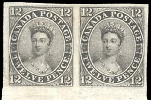 Canada 12-pence Black