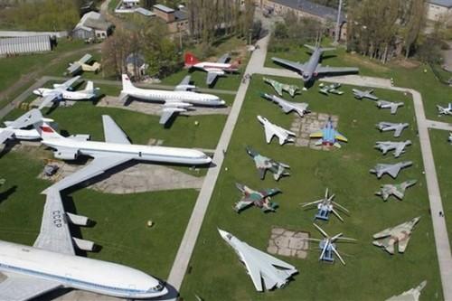 best aviation museums Ukraine