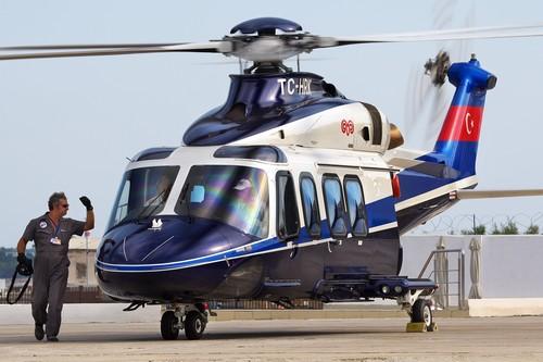 AgustaWestland AW139 Setair