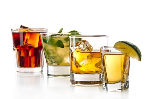 Alcohol High Cholesterol Foods