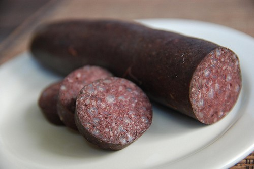BloodPudding 10 Weird Foods